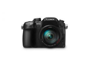 Panasonic LUMIX (DMC-GH4) with H FS14140 lens front